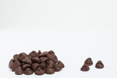 チョコレート チップ 写真素材