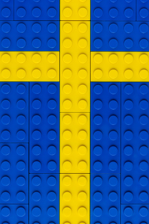 religious cross: Cross of Building Blocks