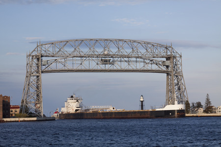 Aerial Lift Bridge & Ship