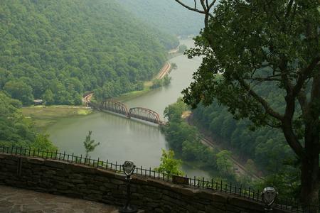 overlook: New River Gorge Scenic Overlook