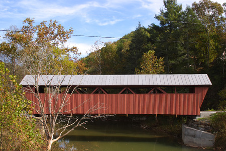 Red Covered Bridge photo