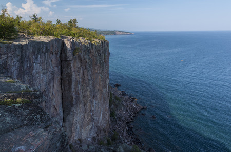 Lake Superior Cliff Scenic