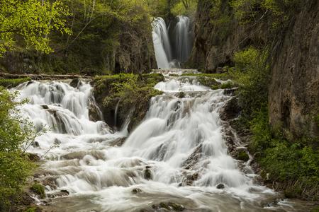 south dakota: Roughlock Falls In South Dakota