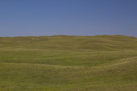 nebraska: Sand Hills of Nebraska Stock Photo
