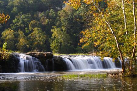 Sandstone Falls In New River Gorge