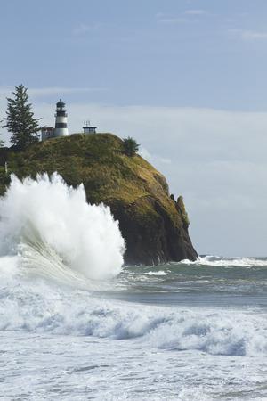岬の失望の灯台 写真素材