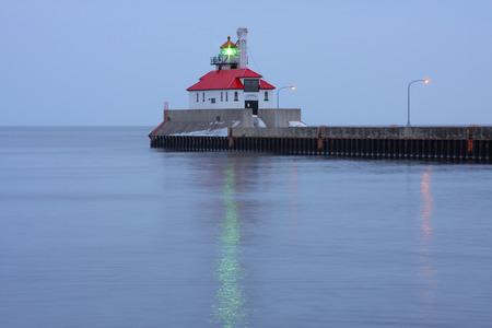 breakwater: Lighthouse On Breakwater