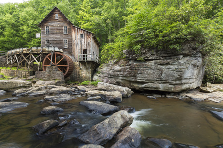 west virginia trees: Old Grist Mill