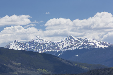 lake dillon: Colorado Mountains Stock Photo
