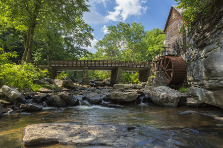 grist mill: Old Grist Mill