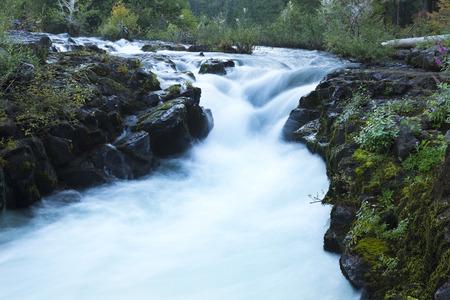 rogue: Rogue River Waterfall Stock Photo