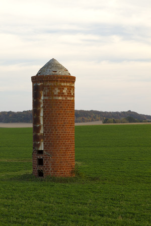 Old Brick Silo photo