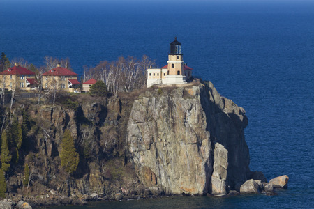 the split: Split Rock Lighthouse