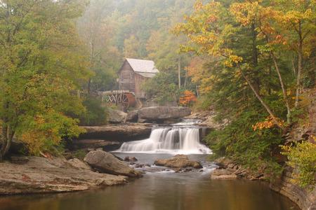 Grist Mill In The Woods Foto de archivo