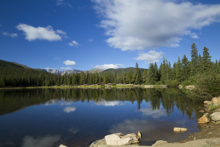 mount evans: Mountain Lake Scenic