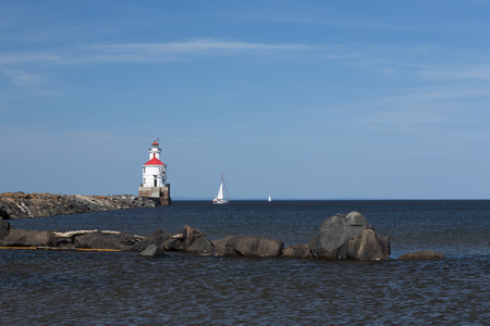 wisconsin: Wisconsin Point Lighthouse