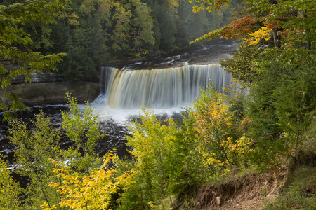 upper: Tahquamenon Upper Falls