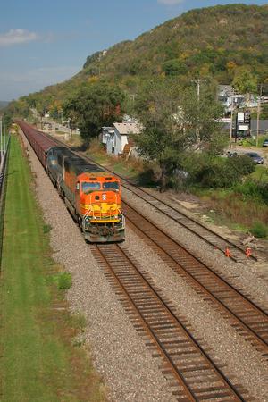 mainline: Freight Train On Mainline
