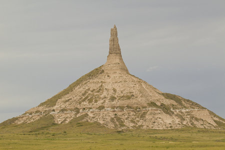 rock formation: Chimney Rock