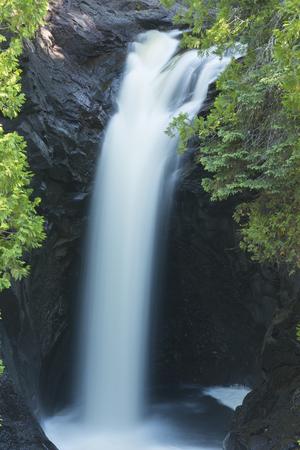 cascade: Cascade River Waterfall Stock Photo