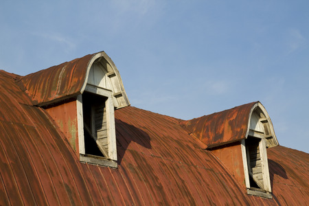 Abandoned Building Roof