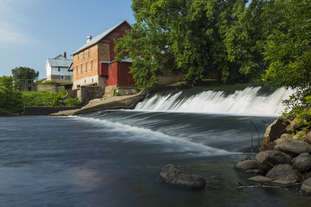 gristmill: Old Grist Mill and Dam