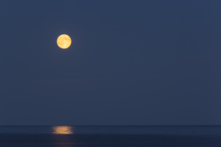 superior: Lake Superior Moon