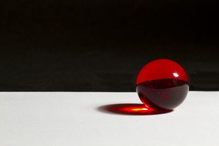 red sphere: Red Marble