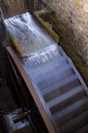 waterwheel: Grist Mill Waterwheel