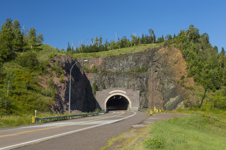 blacktop: Highway Tunnel In Summer