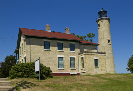 lake michigan lighthouse: Southport Faro