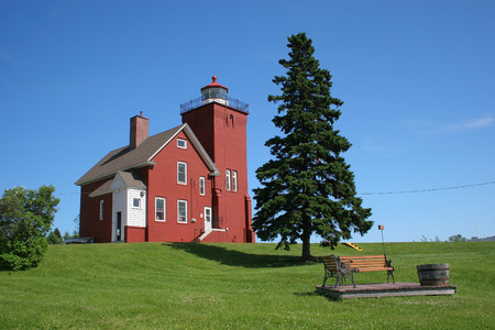harbors: Two Harbors Lighthouse