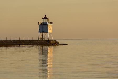 harbors: Two Harbors Breakwater Lighthouse