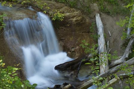 nebraska: Lower Smith Falls on a river in Nebraska.