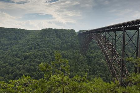 west river: New River Gorge Bridge In West Virginia