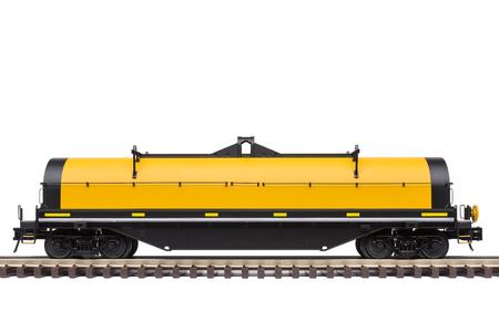 bobina: Railroad Steel Coil Car Foto de archivo
