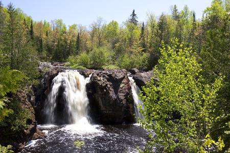 Little Manitou Falls Stock Photo