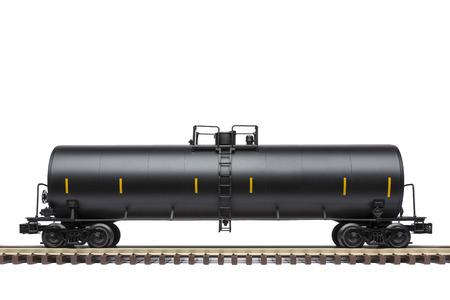 Wagon-citerne wagon sur piste