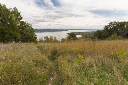 Lake Pepin On The Mississippi River Scenic Landscape