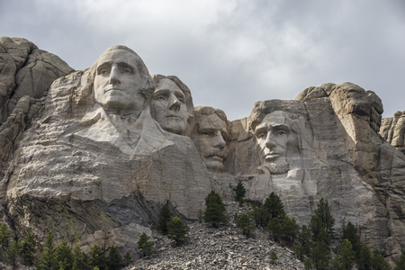 george washington: Monte Rushmore