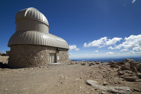 Space Observatory On a Mountain Top