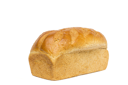 Honey Wheat Bread Loaf Stock Photo