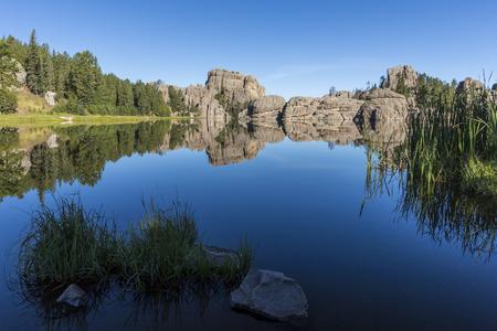 Sylvan Lake Scenic Landscape