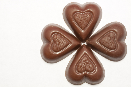 Chocolate Hearts Flower
