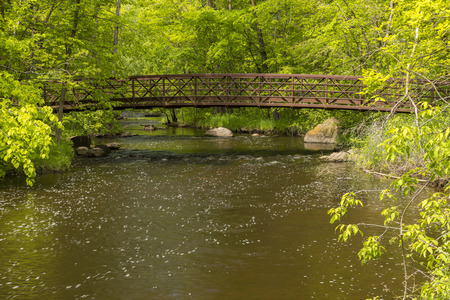 Pike Creek & Footbridge