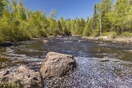 temperance: Temperance River - A river in the woods.