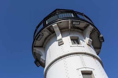 Duluth North Breakwater Lighthouse Tower Stock Photo