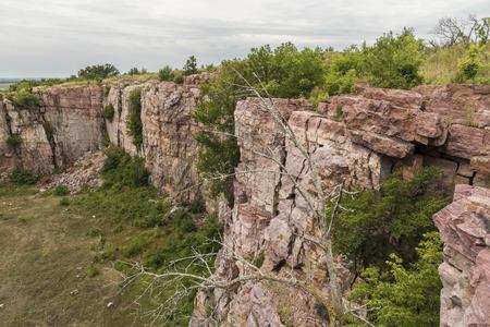Cliff Scenic Landscape