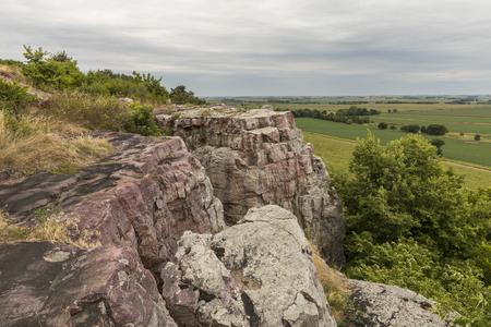 Rural Cliff Scenic Landscape