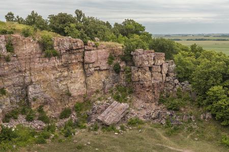 Rural Cliff Landscape